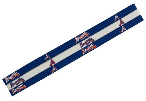 Atlanta Braves Elastic Headbands - Special Order