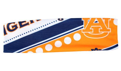 Auburn Tigers Stretch Patterned Headband Special Order