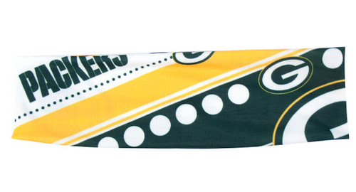 Green Bay Packers Stretch Patterned Headband