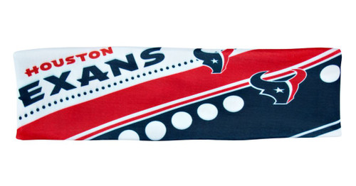 Houston Texans Stretch Patterned Headband - Special Order