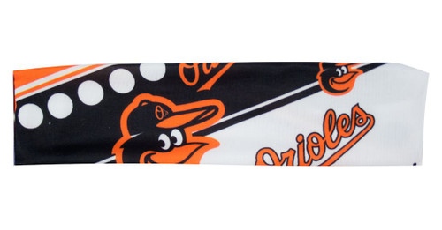 Baltimore Orioles Stretch Patterned Headband - Special Order