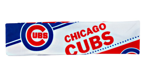 Chicago Cubs Stretch Patterned Headband - Special Order