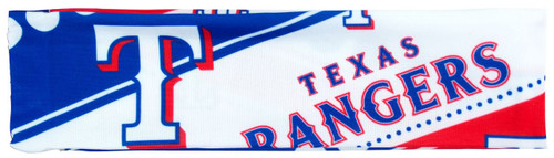 Texas Rangers Stretch Patterned Headband - Special Order
