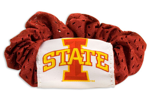 Iowa State Cyclones Hair Twist Ponytail Holder