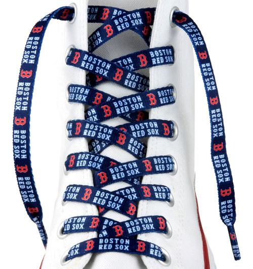 Boston Red Sox Shoe Laces 54 Inch