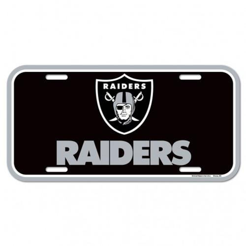 Las Vegas Raiders License Plate
