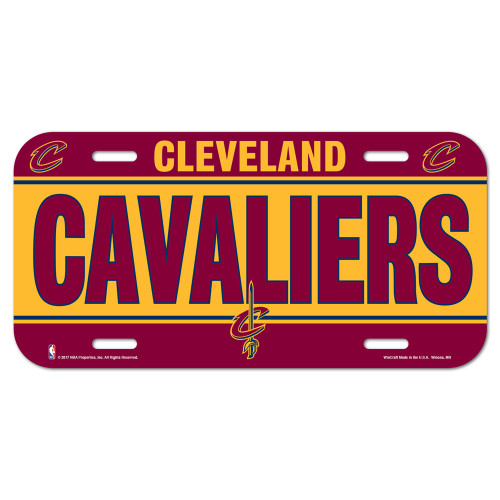 Cleveland Cavaliers License Plate - Special Order