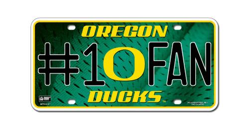 Oregon Ducks License Plate #1 Fan