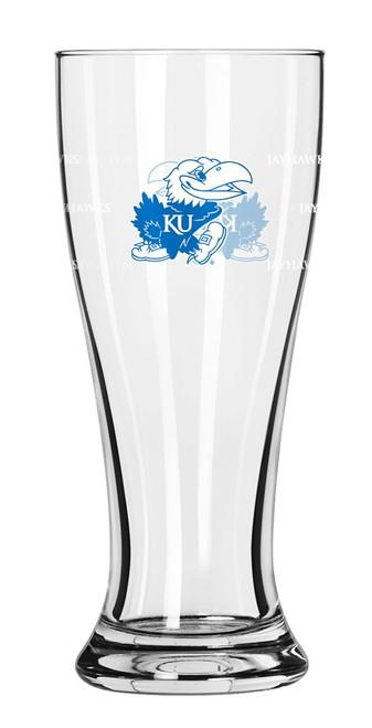 Kansas Jayhawks Shot Glass - Mini Pilsner