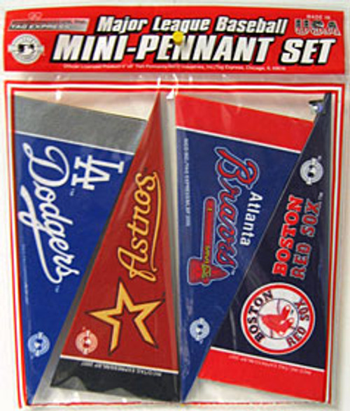MLB Pennant Set Mini