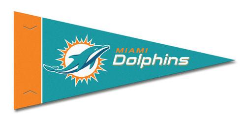 Miami Dolphins Pennant Set Mini 8 Piece
