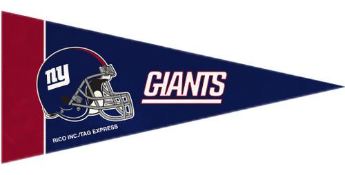 New York Giants Pennant Set Mini 8 Piece