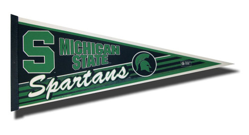 Michigan State Spartans Pennant 12x30 Carded Rico