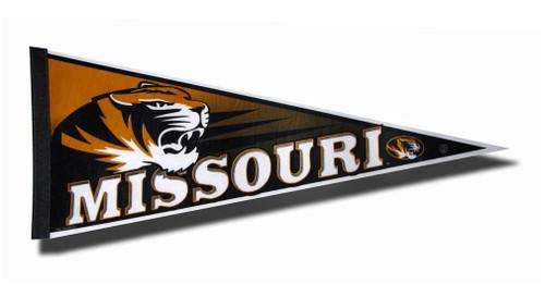 Missouri Tigers Pennant 12x30 Carded Rico