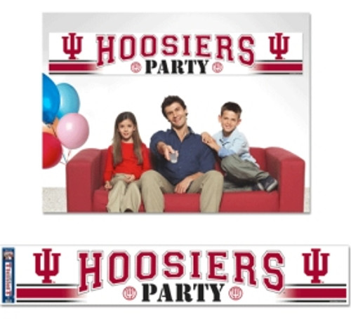 Indiana Hoosiers Banner Party