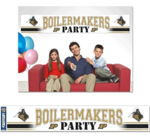Purdue Boilermakers Banner 12x65 Party Style CO
