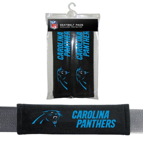 Carolina Panthers Seat Belt Pads CO