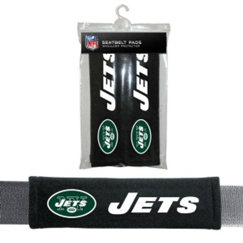 New York Jets Seat Belt Pads CO