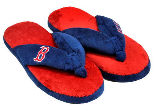 Boston Red Sox Slippers - Womens Thong Flip Flop (12 pc case)