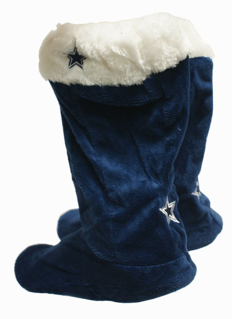 Dallas Cowboys Slippers - Womens Stocking (12 pc case) CO