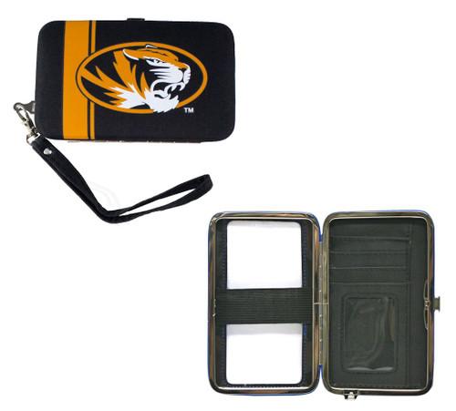 Missouri Tigers Shell Wristlet