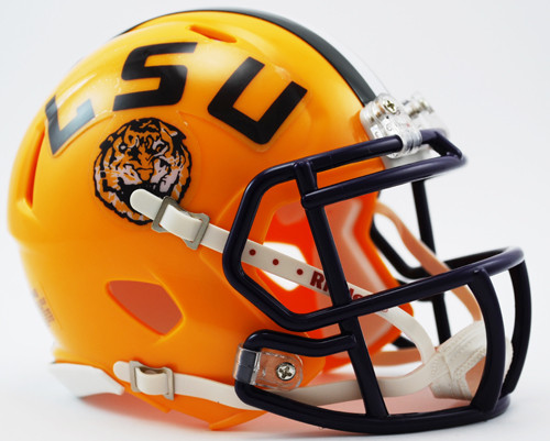 LSU Tigers Speed Mini Helmet