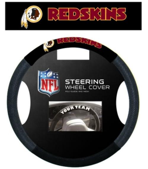 Washington Redskins Steering Wheel Cover Mesh Style CO