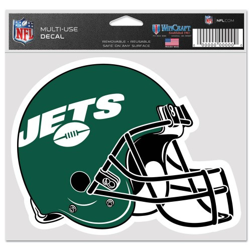New York Jets Decal 5x6 Ultra Color