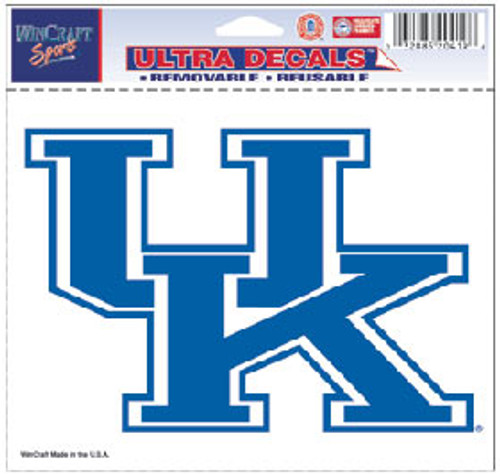 Kentucky Wildcats Decal 5x6 Ultra Color