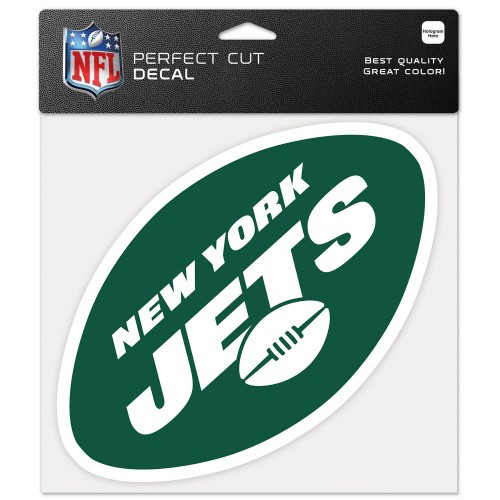 New York Jets Decal 8x8 Die Cut Color