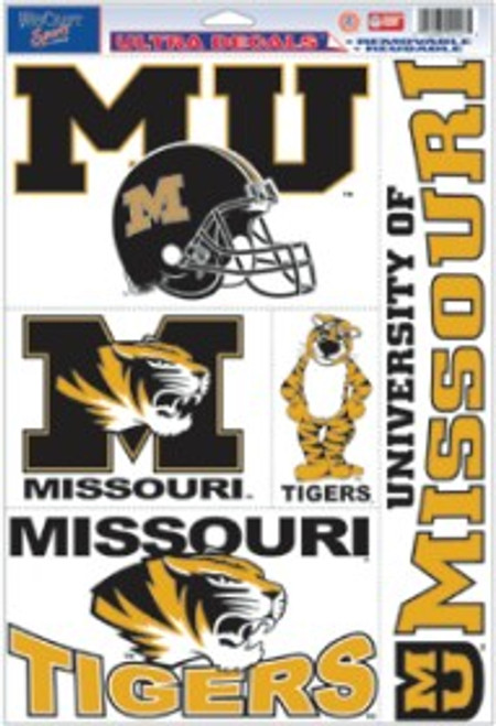 Missouri Tigers Decal 11x17 Ultra - Special Order