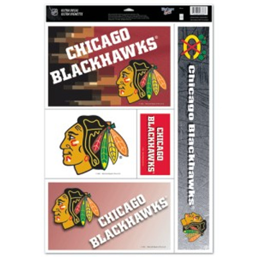 Chicago Blackhawks Decal 11x17 Ultra - Special Order