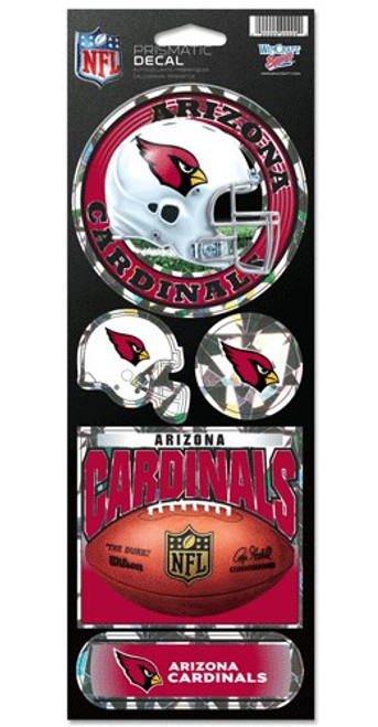 Arizona Cardinals Stickers Prismatic