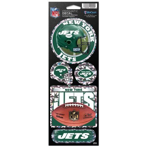 New York Jets Stickers Prismatic