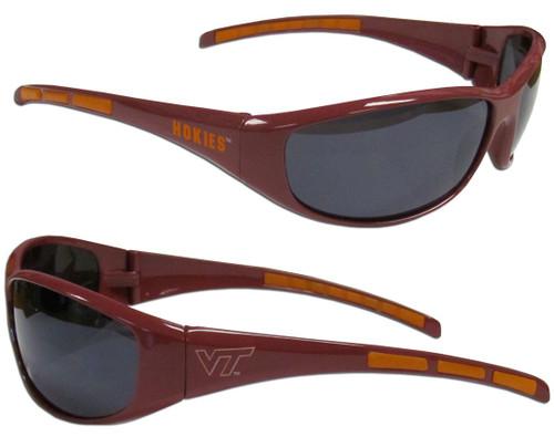 Virginia Tech Hokies Sunglasses - Wrap - Special Order