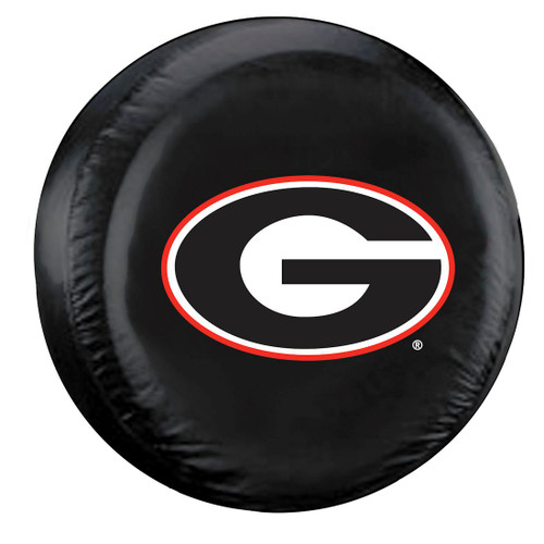 Georgia Bulldogs Tire Cover Large Size Black - Special Order