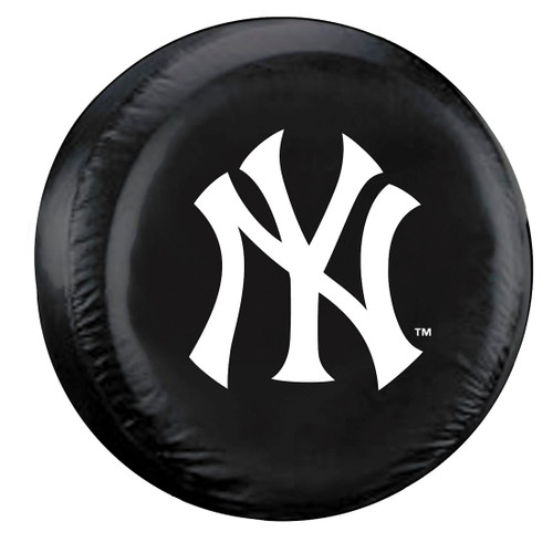 New York Yankees Tire Cover Large Size Black CO