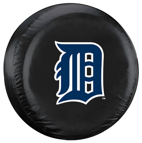 Detroit Tigers Tire Cover Standard Size Black - Special Order