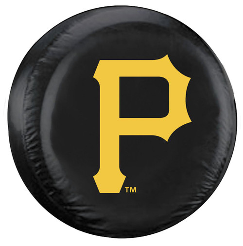 Pittsburgh Pirates Tire Cover Standard Size Black CO