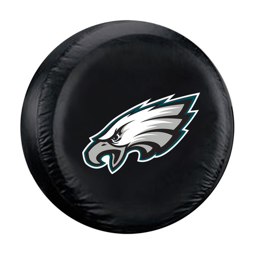 Philadelphia Eagles Tire Cover Standard Size Black
