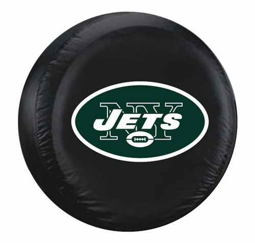 New York Jets Tire Cover Standard Size Black