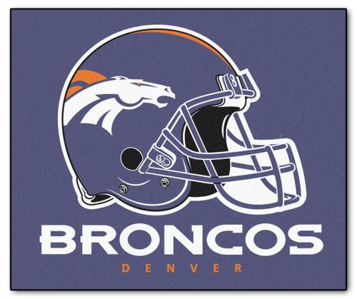 Denver Broncos Area Mat Tailgater - Special Order