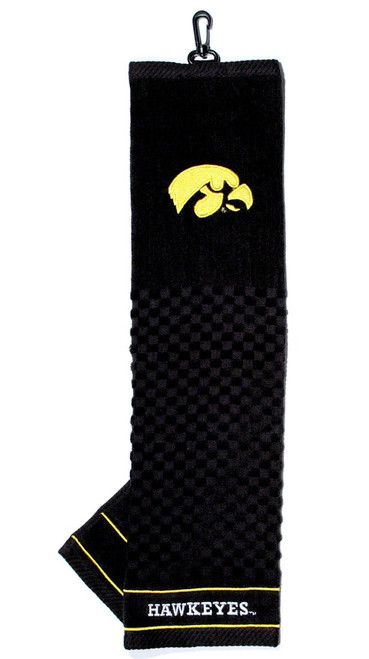 "Iowa Hawkeyes 16""x22"" Embroidered Golf Towel"