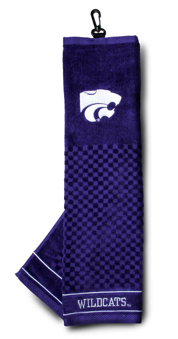 """Kansas State Wildcats 16""""x22"""" Embroidered Golf Towel - Special Order"""