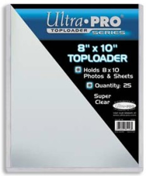 """Top Loader - 8""""x10"""" holds sleeves (25 per pack)"""