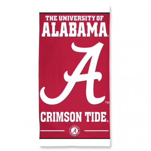 Alabama Crimson Tide Towel 30x60 Beach Style