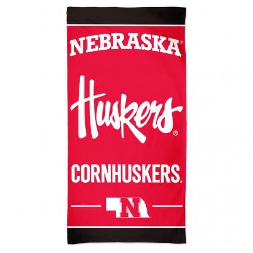 Nebraska Cornhuskers Towel 30x60 Beach Style