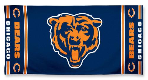 Chicago Bears Towel 30x60 Beach Style