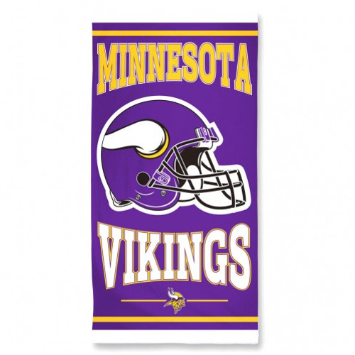 Minnesota Vikings Towel 30x60 Beach Style