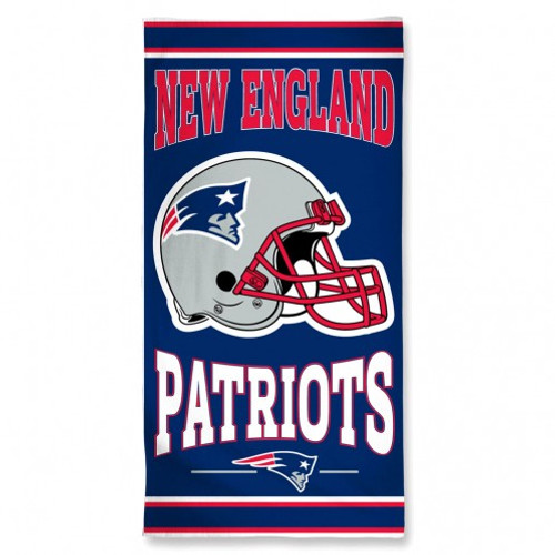 New England Patriots Towel 30x60 Beach Style